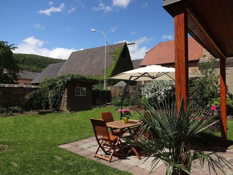 'Un petit coin d'Alsace' gîte  indépendant 2-5 personnes, casa vacanza a Guebwiller