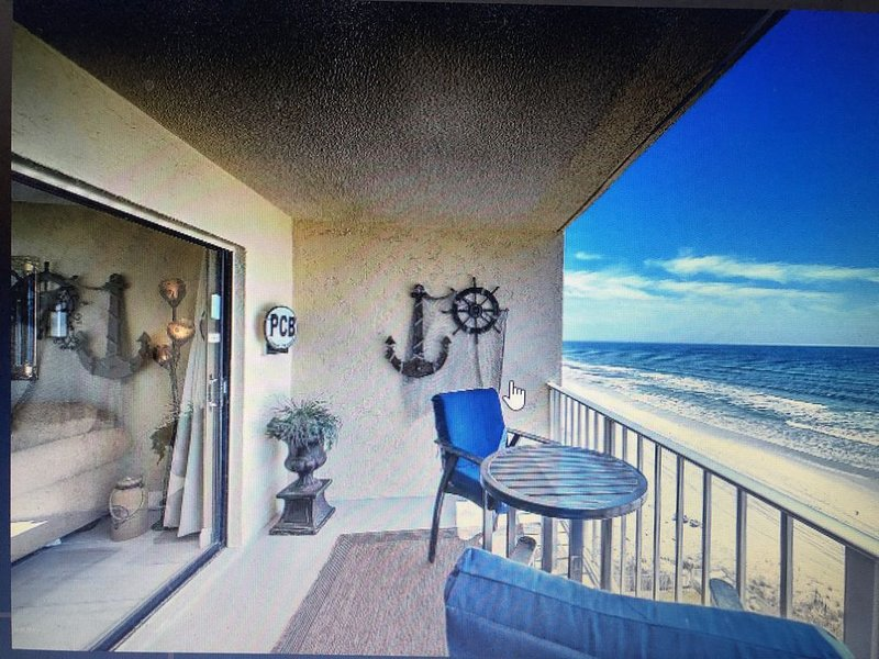 HOME ON THE BEACH  ENJOY  UPDATES AND VIEW, holiday rental in Panama City Beach