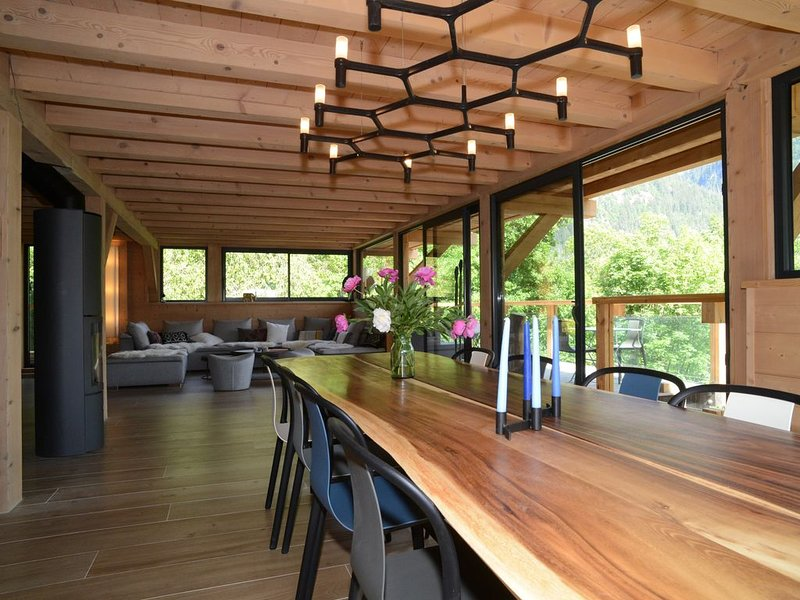 chalet nature et design Chamonix vallée, holiday rental in Servoz