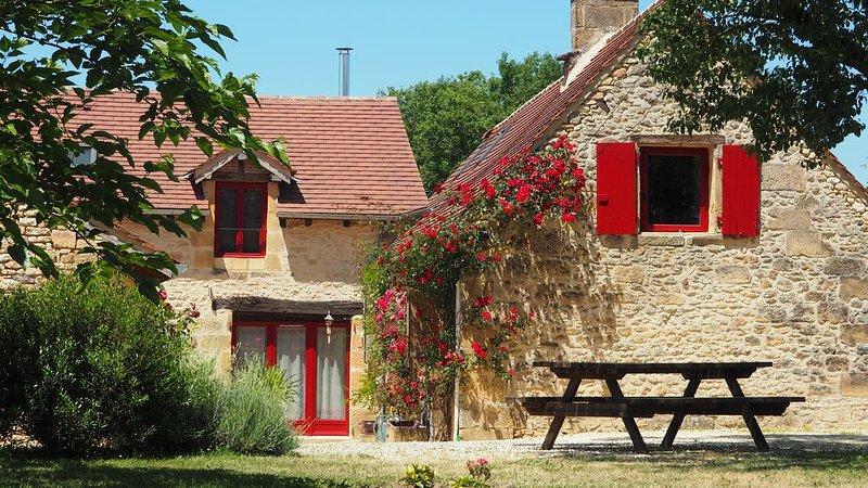 Cottage Au Pré des Noix, nature, calme, qualité, confort entre Lascaux et Sarlat, alquiler vacacional en Peyzac-le-Moustier