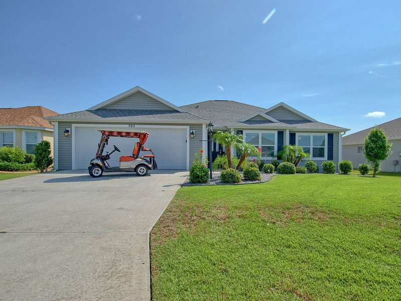 GOLF CART BEAUTIFUL HOME PET FRIENDLY, location de vacances à Leesburg