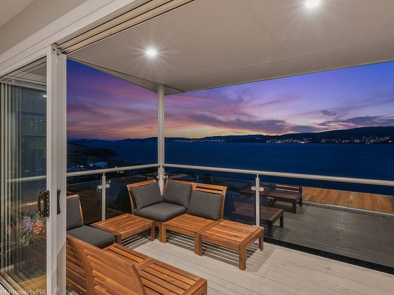 Outdoor deck with BBQ