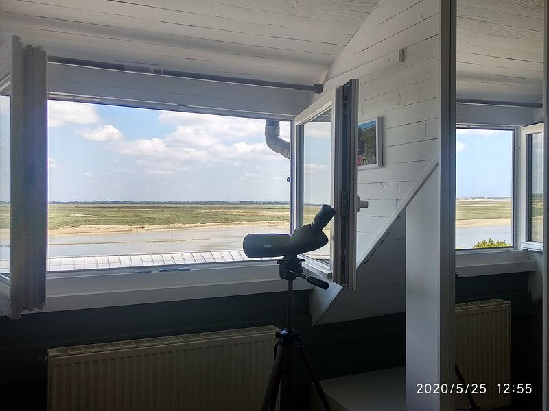 Maison vue baie en plein coeur de la ville, location de vacances à Saint-Valery-sur-Somme