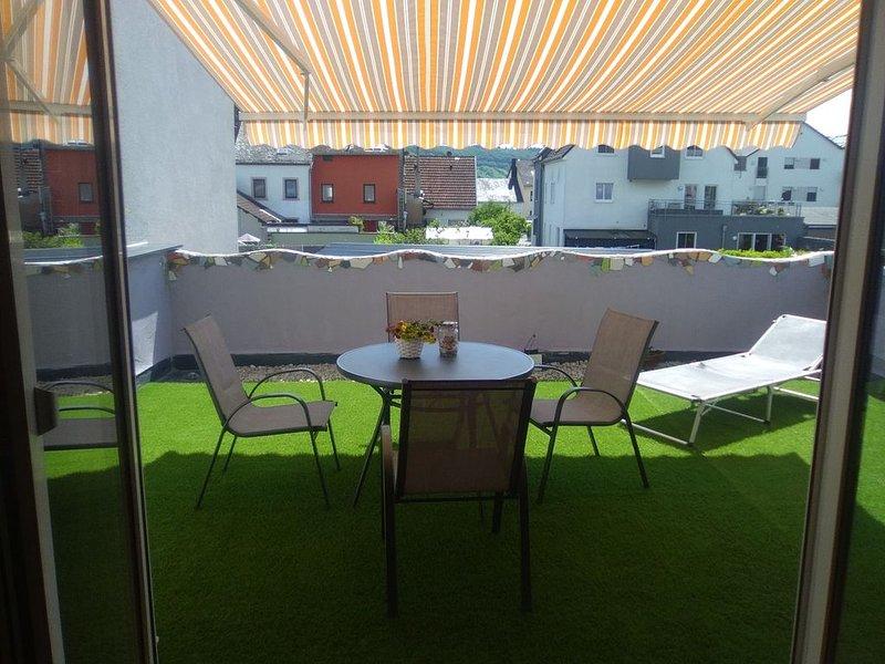 Ferienwohnung mit großer Terrasse, aluguéis de temporada em Waldrach