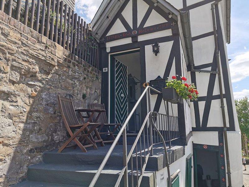300 Jahre altes Haus in der historischen Altstadt von Arnsberg, casa vacanza a Sundern