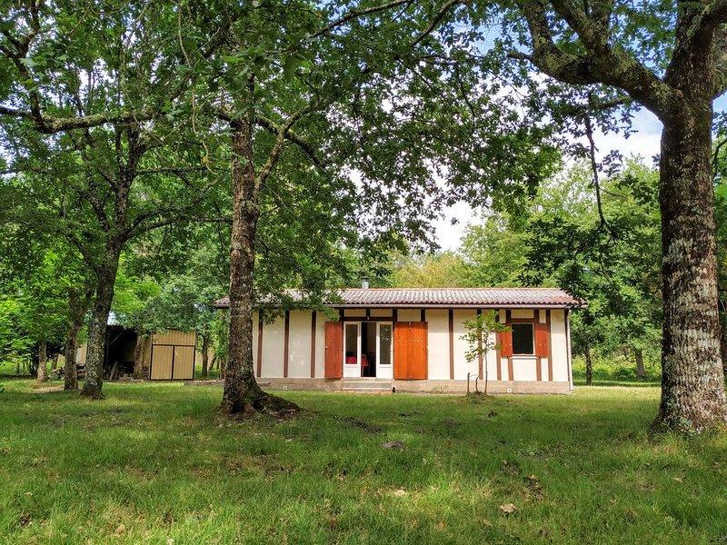 The Summer House - Maison Vacances 4p. dans Grand Parc Privé Proche Plages, casa vacanza a Onesse-et-Laharie