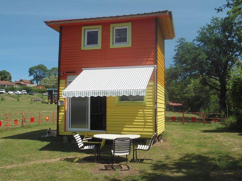 cabane papillon 4 pers, location de vacances à Lapalisse