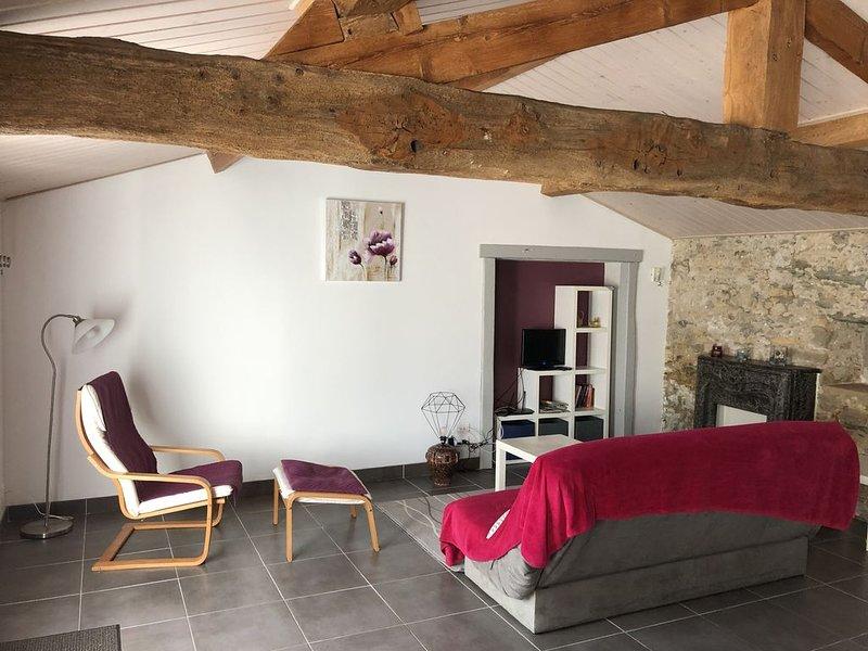 DOMAINE DE LA MORINIERE - L'ÉTABLE, vacation rental in Saint-Christophe-du-Ligneron