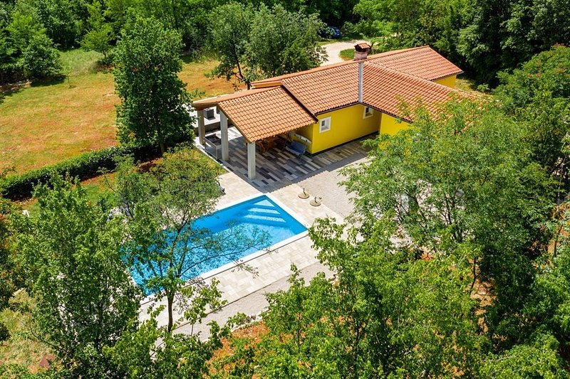 4 bedroom villa with private swimming pool , with total privacy, holiday rental in Ruzici