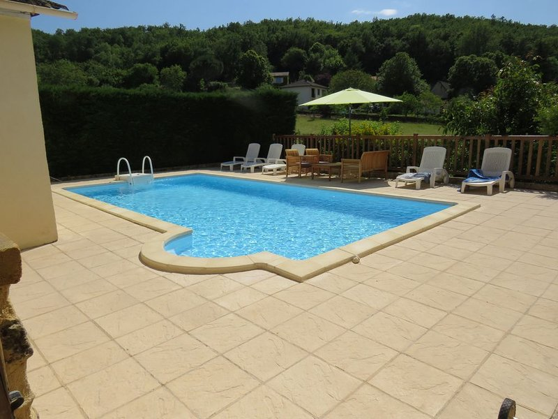 500 year old Perigord Farmhouse 5 Bedrooms & private pool, holiday rental in Naussannes