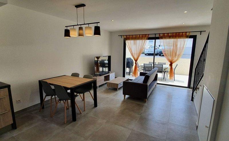 Agréable Maison «U Nidu» T3 de 65m2 à 500m de la mer, holiday rental in Canale-di-Verde