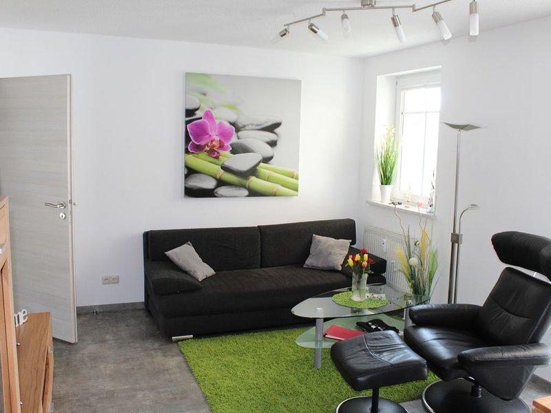 Komfortappartement Homas mit Strandkorb, Balkon + Tiefgarage für 2 Personen, holiday rental in Usedom Island