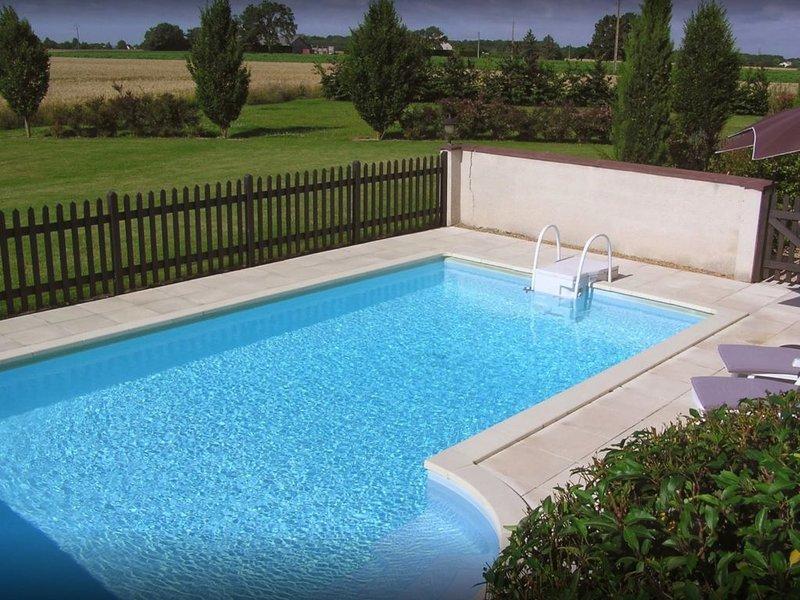 Gîte de charme *** en pleine nature, au cœur des châteaux de la Loire, aluguéis de temporada em Langeais