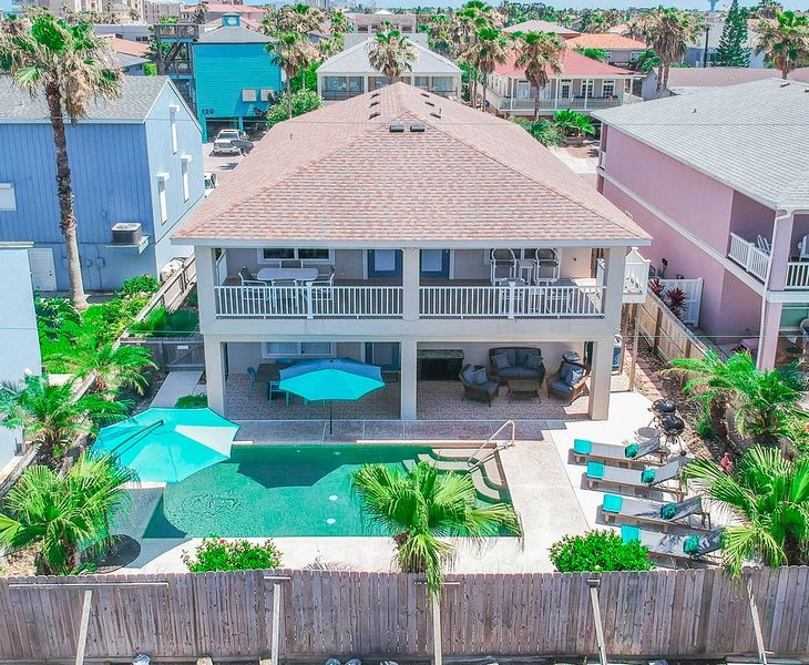 BEACH DAYS = BEST DAYS 7 Nights with 6 Paid, holiday rental in Port Isabel