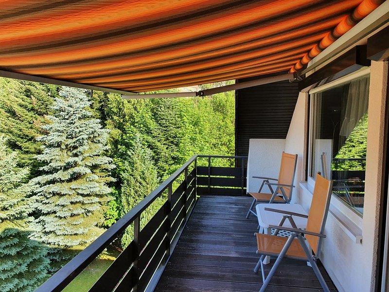 Ferienwohnung Wildbad Luft für drei Personen, alquiler vacacional en Bad Wildbad
