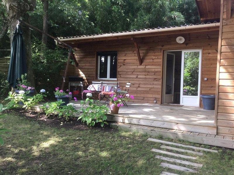 La maison des bois proche Hossegor Seignosse Océan Lac & Golf, location de vacances à Saint-Jean-de-Marsacq