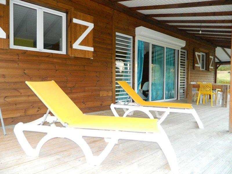 Maison à 200 m de la plage, casa vacanza a Marie-Galante