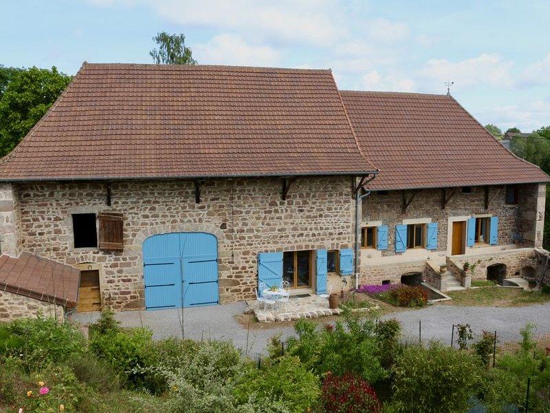 Gîte de charme - 15 personnes -  Ferme rénovée - Bourgogne, holiday rental in Bois-Sainte-Marie