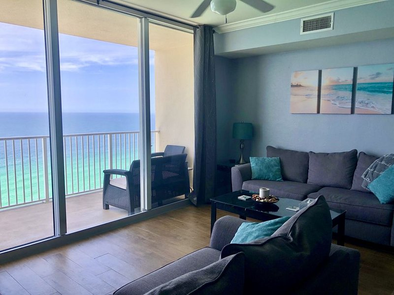 Look no further! Amazing Views! - GULF FRONT 1BR+BunkRoom/2Bath at Tidewater, vacation rental in Panama City Beach