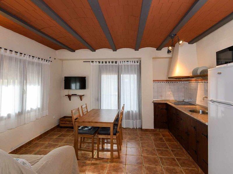 CASA MIRADOR III. Apartamento de 1 dormitorio con terraza, casa vacanza a Terra Alta