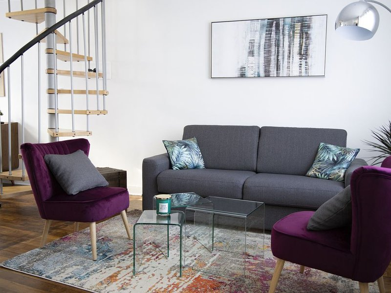GWEN HA DU, magnifique T3 en duplex dans le centre historique de Vannes, vacation rental in Saint-Nolff