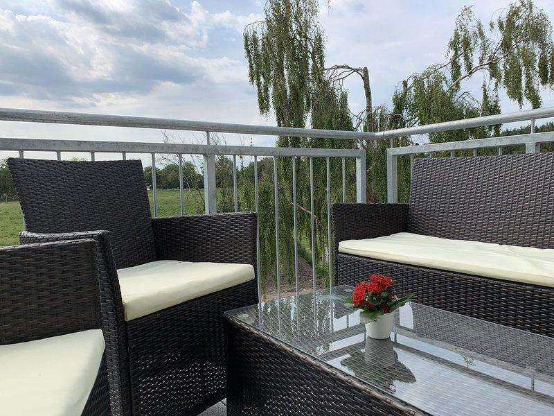 Moderne Ferienwohnung, location de vacances à Neuharlingersiel