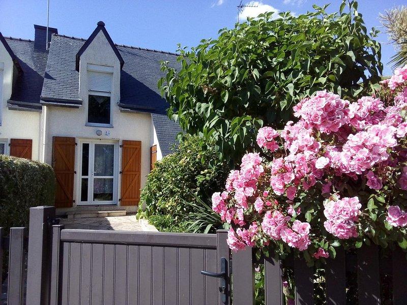 Maison 4 personnes. 300 m des plages., holiday rental in Clohars-Carnoet