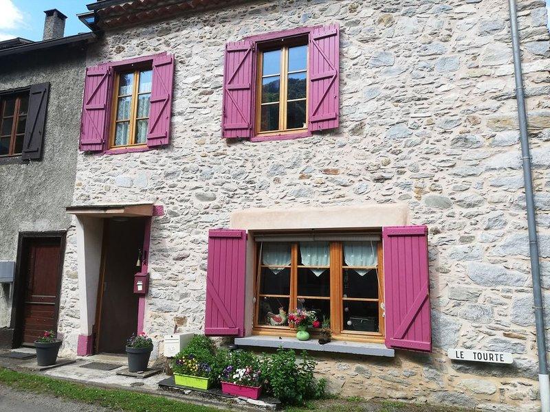 Maison de montage Ariégeoise, holiday rental in Guzet Neige