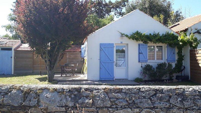LE VIEIL : Maison 4 personnes entièrement refaite à 50 mètres de la mer, alquiler de vacaciones en Noirmoutier en l'Ile