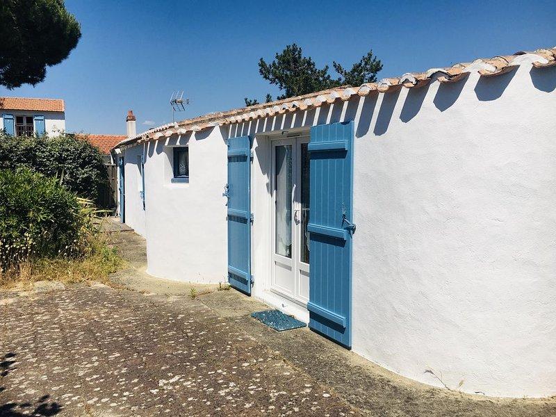 Charmante maison de pêcheur Île de Noirmoutier, vacation rental in La Gueriniere