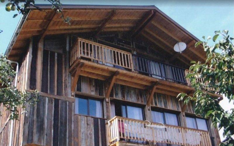 Loue chalet savoie doucy station reliée à Valmorel, holiday rental in Doucy