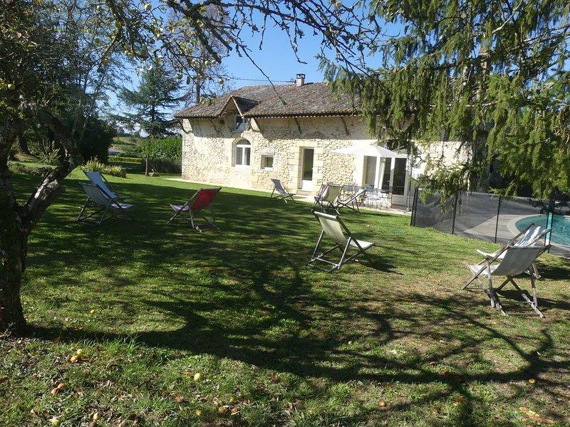 Le Cottage de Château Lardier près de St Emilion, location de vacances à Pujols