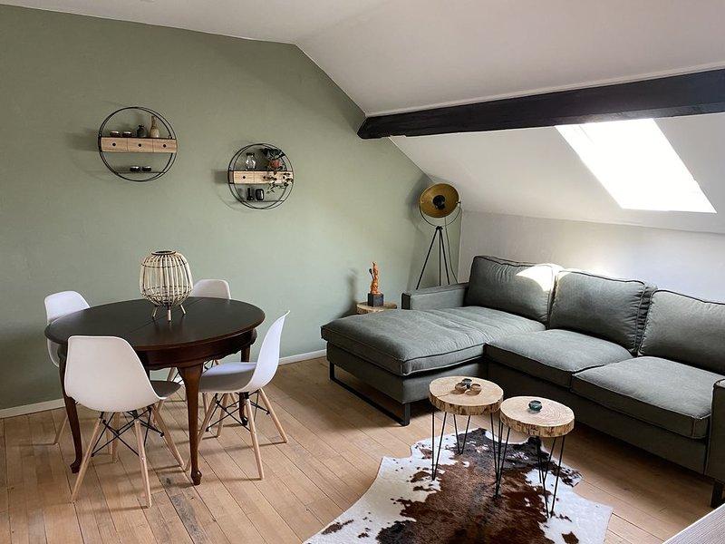 Cozy apartment (4p) prime location near Maastricht, casa vacanza a Gronsveld