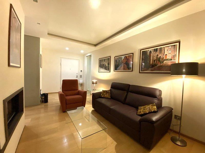 Casa Clarignano: Stunning 2 bedroom apartment in Montefalco, vakantiewoning in San Valentino