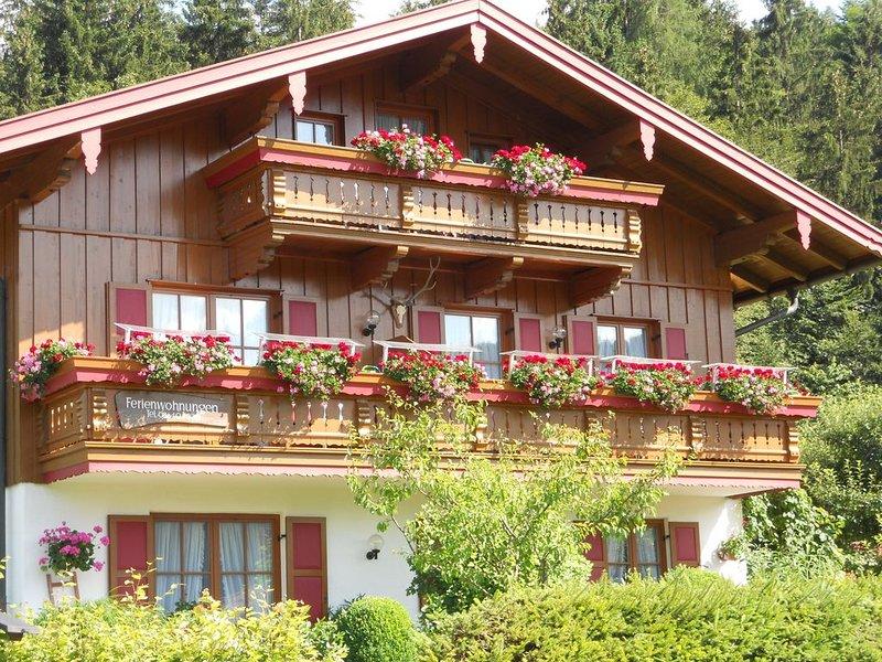 Ferienwohnung Reit im Winkl für 1 - 2 Personen - Ferienwohnung, vacation rental in Schwendt