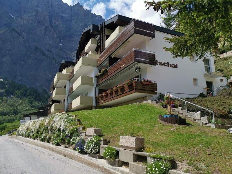 Ferienwohnung Leukerbad (Ort) für 4 - 7 Personen mit 1 Schlafzimmer - Ferienhaus, location de vacances à Leukerbad