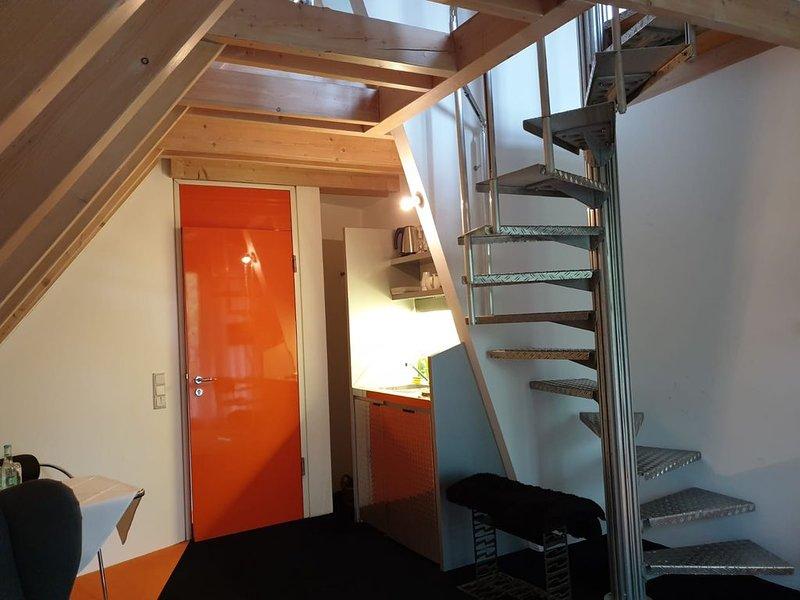 Loft Appartement mit Whirlpool am Fuße der schwäbischen Alb, casa vacanza a Bad Urach