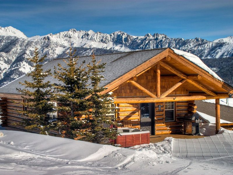Big Sky Vacation Rentals: 7 Cowboy Cowboy Heaven Cabin, holiday rental in Big Sky