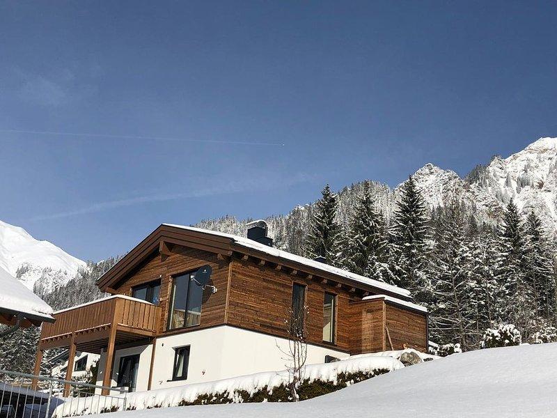 Luxe Chalet 7 pers. in zonnige Klostertal, Voralberg, aluguéis de temporada em Lech