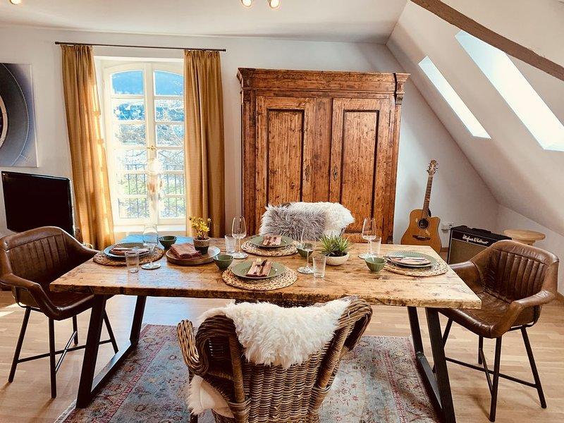 Mosel Loft in historischem Ambiente - James Cook Appartement, holiday rental in Kinheim