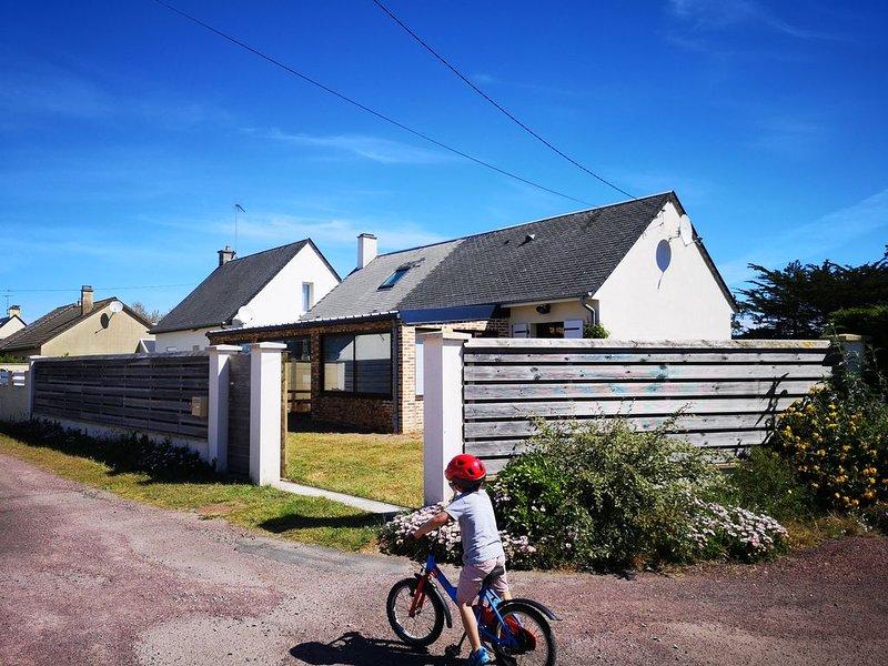 Maison de l'Océan à 500 mètres de la plage, vacation rental in Denneville