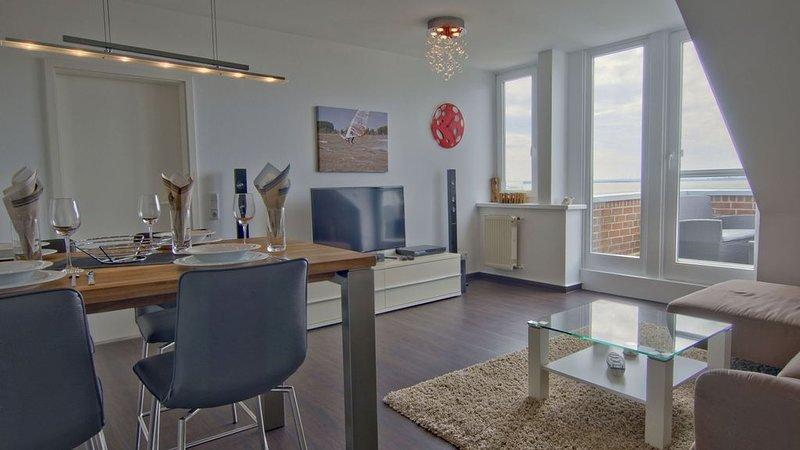 DümmerDiva - Exquisite Traumwohnung für 4-5 Personen mit Balkon und traumhaften, Ferienwohnung in Damme