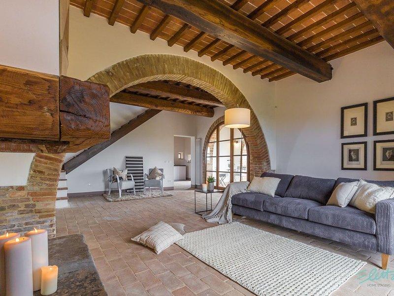 Nel cuore della Toscana, holiday rental in Petrignano