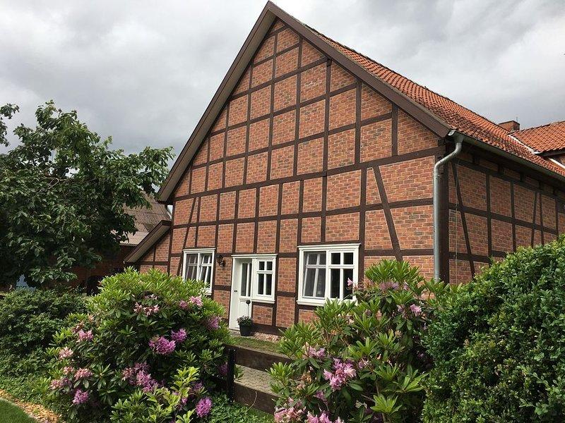 Moderne Ferienwohnung in der niedersächsischen Elbtalaue und Nemitzer Heide, location de vacances à Waddeweitz