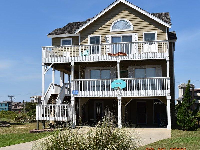 5 BR Nags Head Second Row Beach House at The Sandbar, alquiler de vacaciones en Nags Head