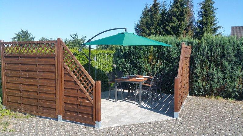 Ferienwohnung 60 m2 für 3+1 Personen in Goldberg an der Seenplatte Mecklenburg, casa vacanza a Muhl Rosin