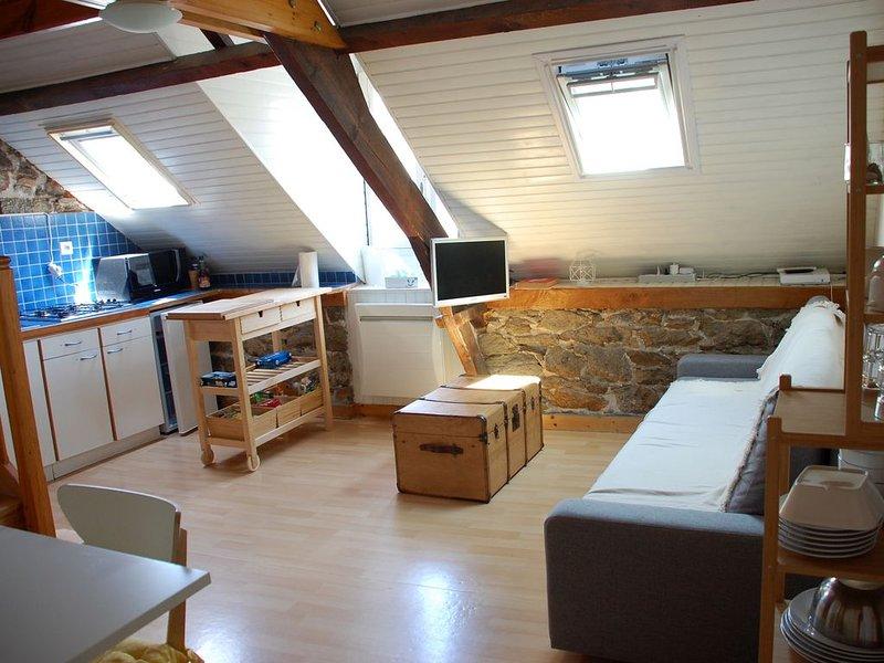 Appartement à Cancale - Port de La Houle - entre St Malo et le Mont St Michel, casa vacanza a Cancale