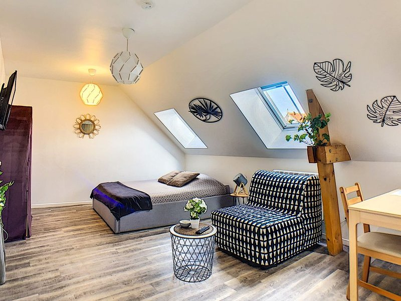 Le Cosy ★ Appart 2 pers. ★ Hypercentre ★ Parking, holiday rental in Wizernes