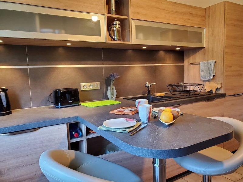 Appt. 3 Etoiles de 60m², location de vacances à Cernay