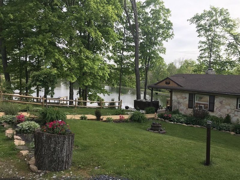 Beautiful private property in rural environment overlooking Ski Liberty., holiday rental in Emmitsburg